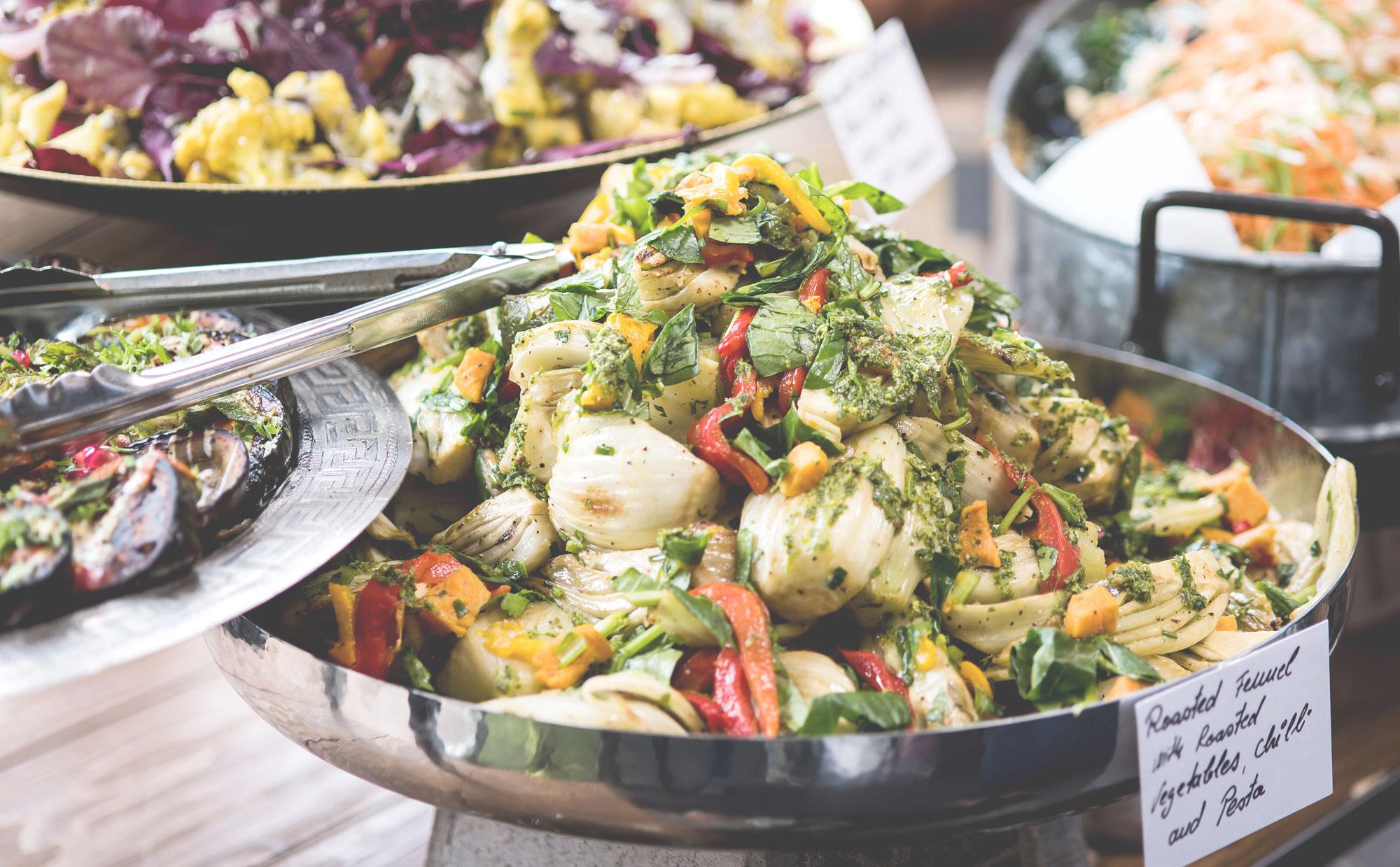 Gourmet Salad, Riverside Kitchen, Riverside Farmers' Market