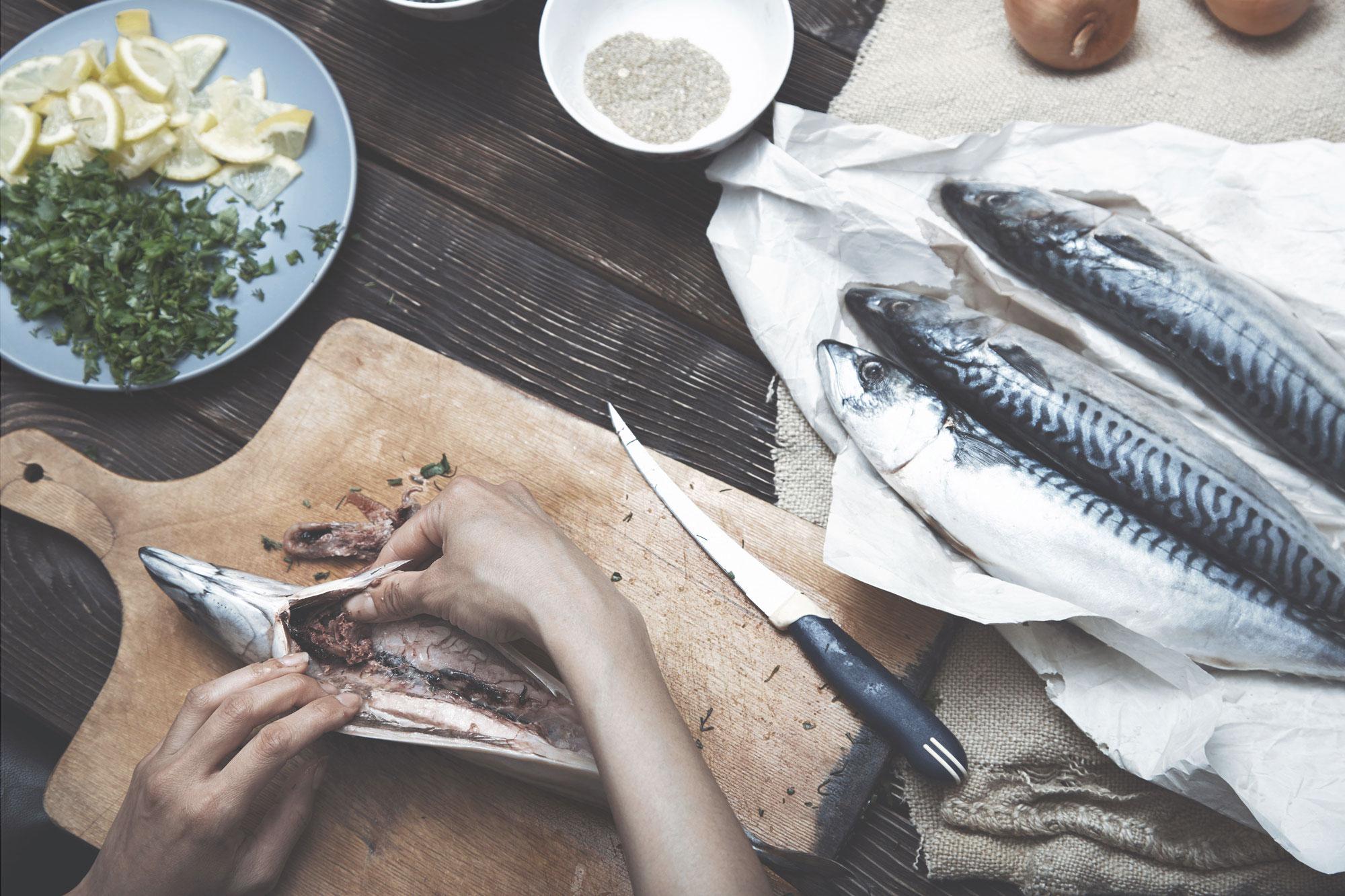 Gourmet Fish, Riverside Market, Riverside Farmers' Market