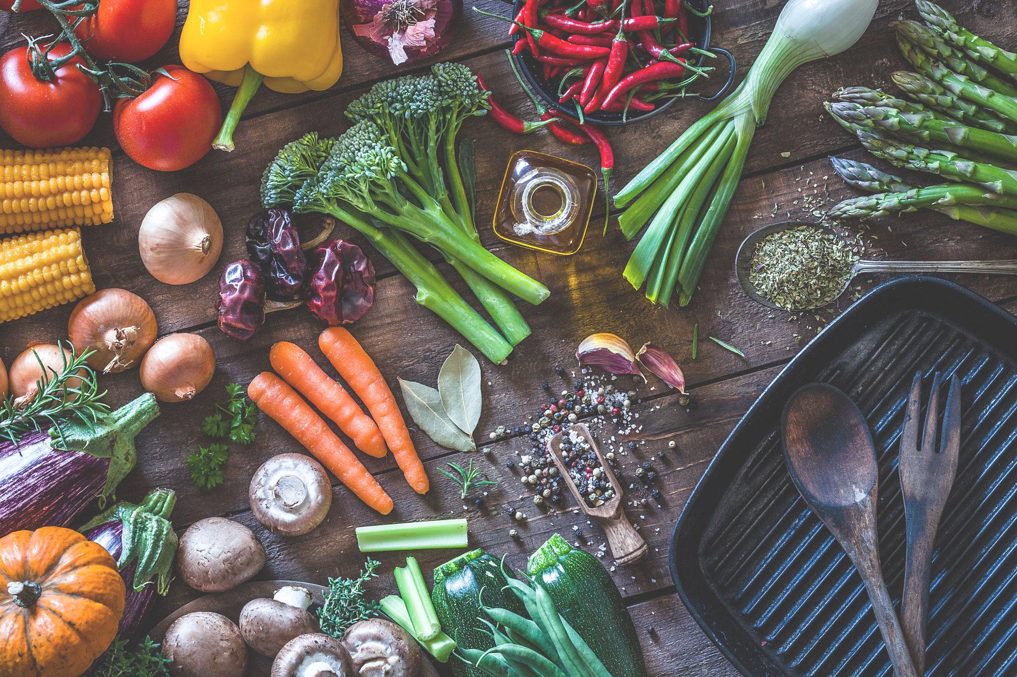 Gourmet Vegetables, Riverside Kitchen, Riverside Farmers' Market