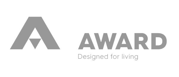 Award Designed for living logo